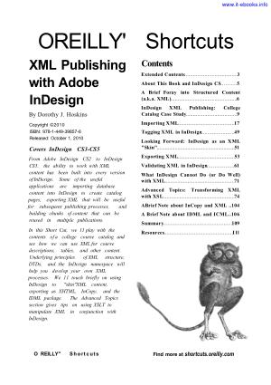 XML Publishing With Indesign CS