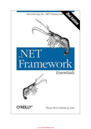 .NET Framework Essentials, 2nd Edition