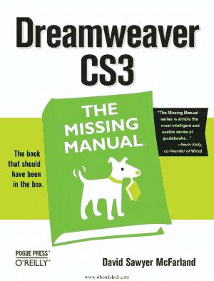 Free Download PDF Books, Dreamweaver CS3 The Missing Manual