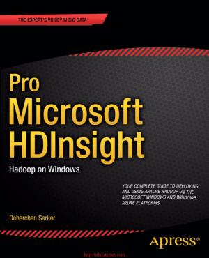 Free Download PDF Books, Pro Microsoft HDInsight