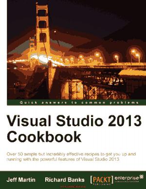 Free Download PDF Books, Visual Studio 2013 Cookbook