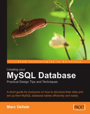 Creating your MySQL Database – PDF Books