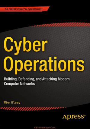 Cyber Operations – PDF Books