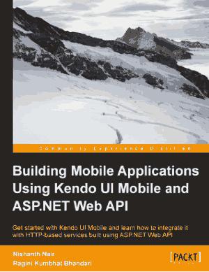 Building Mobile Applications Using Kendo UI Mobile And AspNet Web API
