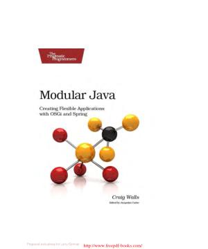 Modular Java – PDF Books