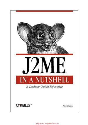 J2ME in a Nutshell – PDF Books