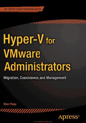 Hyper-V for VMware Administrators – Free PDF Books
