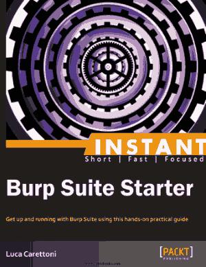 Burp Suite Starter – Free Pdf Book
