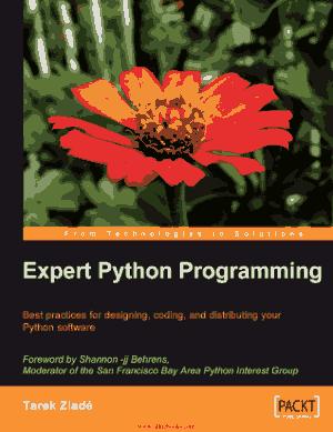 Expert Python Programming – Free Pdf Book