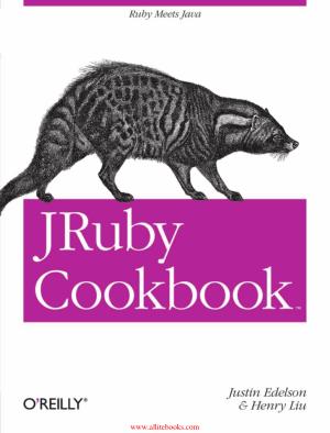 JRuby Cookbook – FreePdfBook