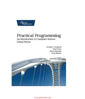 Practical Programming – FreePdfBook