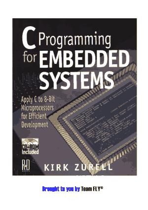 C Programming for Embedded Systems – FreePdf-Books.com