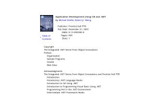 Application Development Using C# and .NET – FreePdf-Books.com
