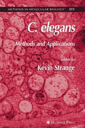 C.elegans Methods and Applications – FreePdf-Books.com