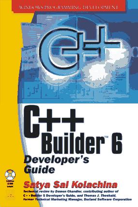C++ Builder 6 Developers Guide – FreePdf-Books.com