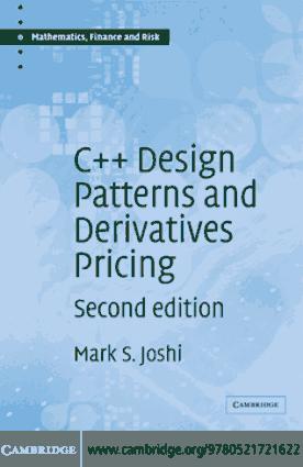 C++ Design Patterns and Derivatives Pricing – FreePdf-Books.com